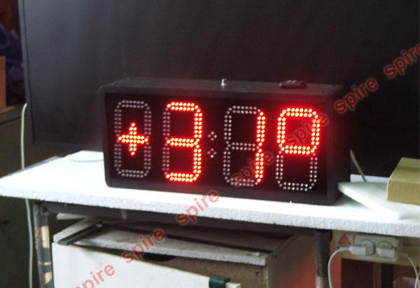 Большие часы светодиодные